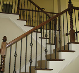 Iron Spindles Cost St Louis Stair U0026 Wood Worksmetal Or Wrought Iron Balusters St Louis Mo